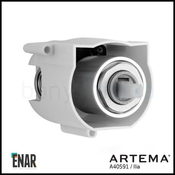 Artema Ilia A40591 Ankastre Duş Bataryası Sıva Altı