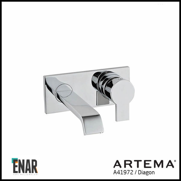 Artema Diagon A41972 Ankastre Lavabo Bataryası