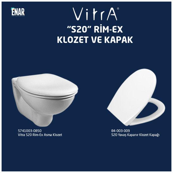 Vitra S20 Rim-Ex Asma Klozet Seti