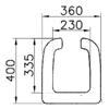 Vitra S20 79-003-003 Engelli Klozet Kapağı