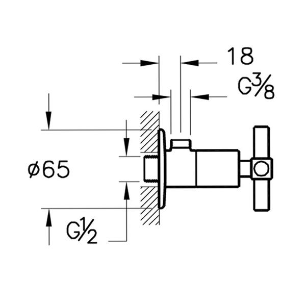 Artema Juno A4155123 Ara Musluk Altın
