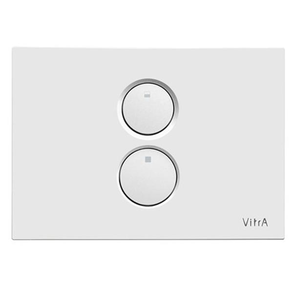 VitrA Twin O 740-0200 Kumanda Paneli, Beyaz
