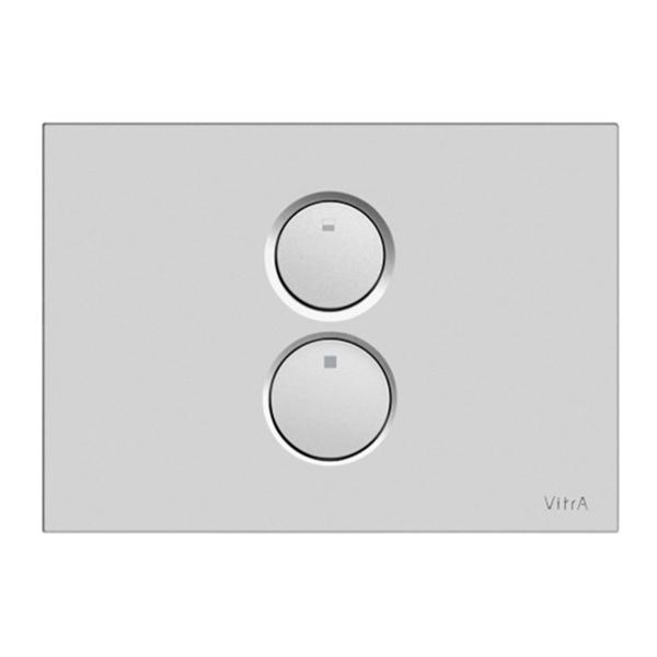 VitrA Twin O  740-0285 Kumanda Paneli, Mat Krom
