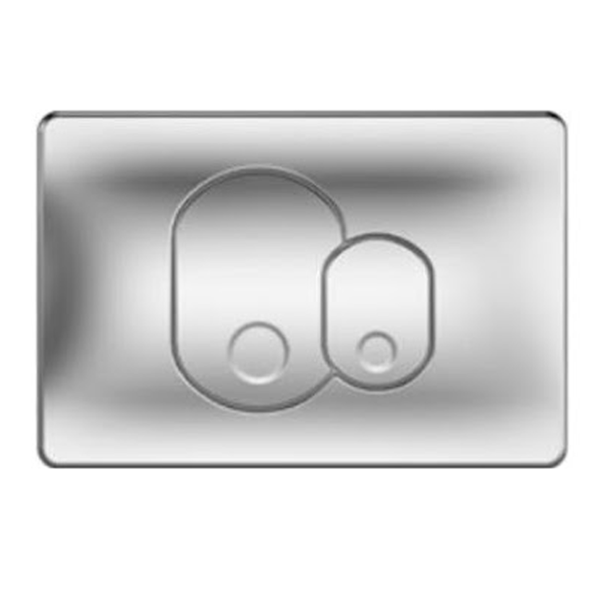 Vitra 711-1085 Kumanda Paneli,Çift Kademeli Mat Krom