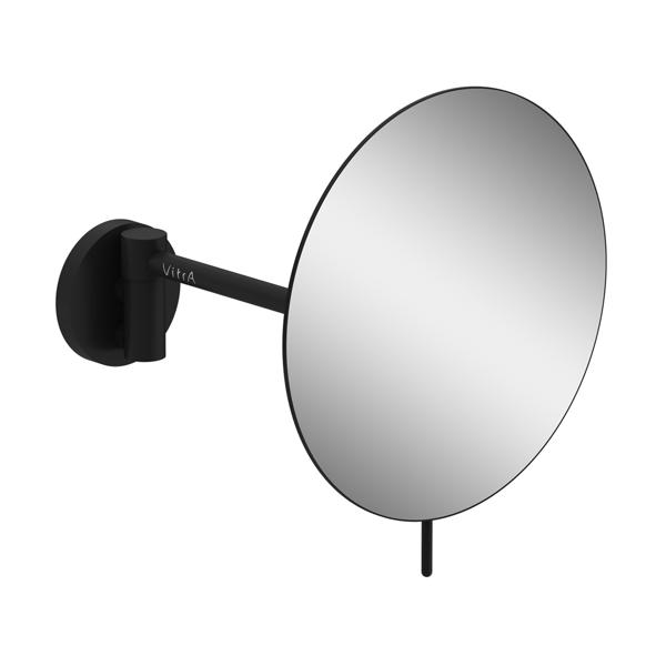 VitrA Origin A4489536 Makyaj / Traş Aynası Gezer Kollu,Mat Siyah