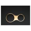 VitrA Sirius 740-0421 Kumanda Paneli,Çift Basmalı, Parlak  Siyah/Altın