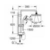 Grohe NTempesta 200 27389002 Duş Sistemi+ Divertör