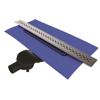 VitrA 5702052 Eco - Flow V-Flow Dk200 040 Duş Kanalı,Mat Krom Yandan S H:60