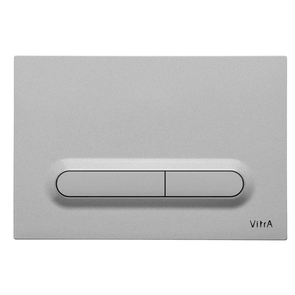 VitrA Loop T 740-0786 Mat Krom Kumanda Paneli,Parmak İzi Bırakmayan Ekstra Hijyenik Kaplama